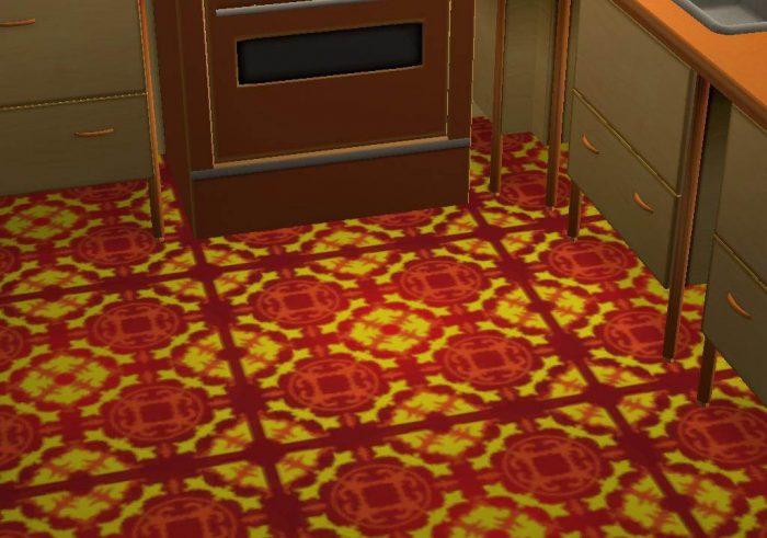Oriental Floor Set