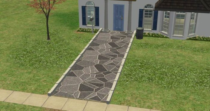 Crazy Paving Ground Covers