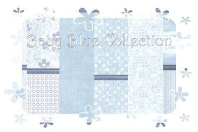 Baby Blue Wall & Floor Collection