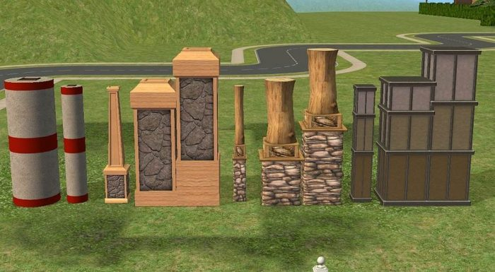 Columns in Full Tile