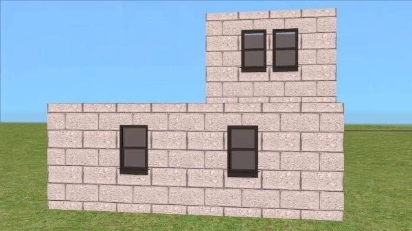 Construction Brick Walls