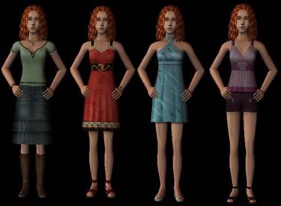 EA Female Teen Clothing