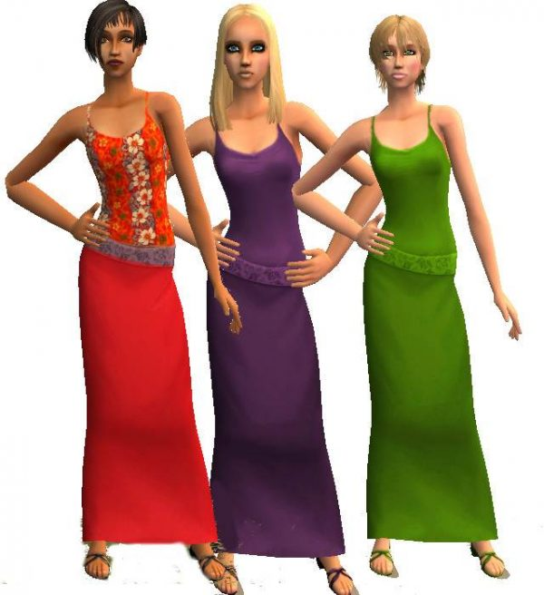3 Formal Dress Re-colours