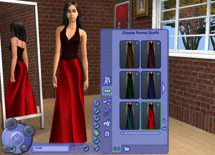 6 Formal Dress Recolours