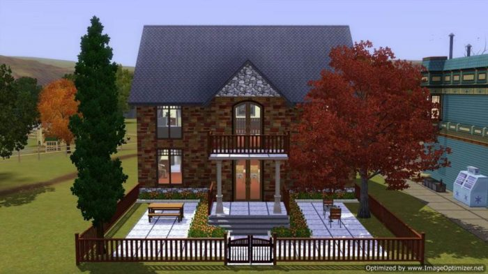 Sim Valley Library - Sims 3 Version