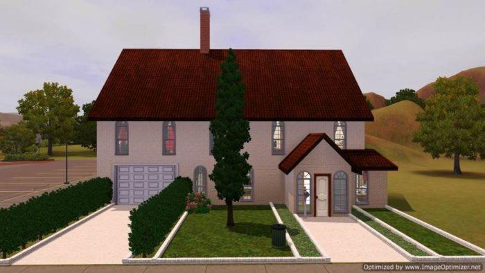 47 Sim Lane - Sims 3 Version