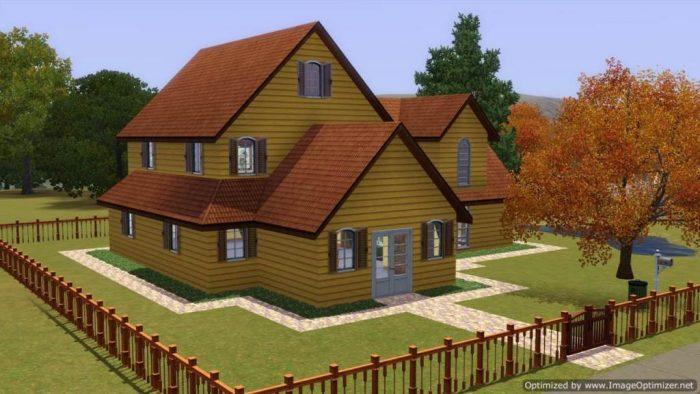 46 Bluebell Lane - Sims 3 Version