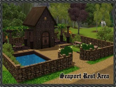Seaport Village Rest Area