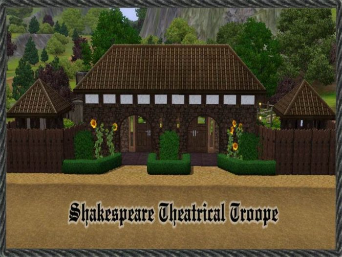 Shakespeare Theatrical Troope