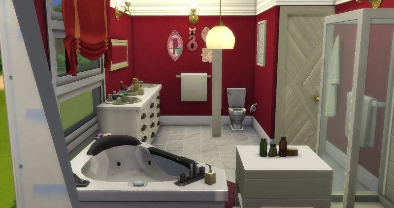Corner Bath Room - No CC