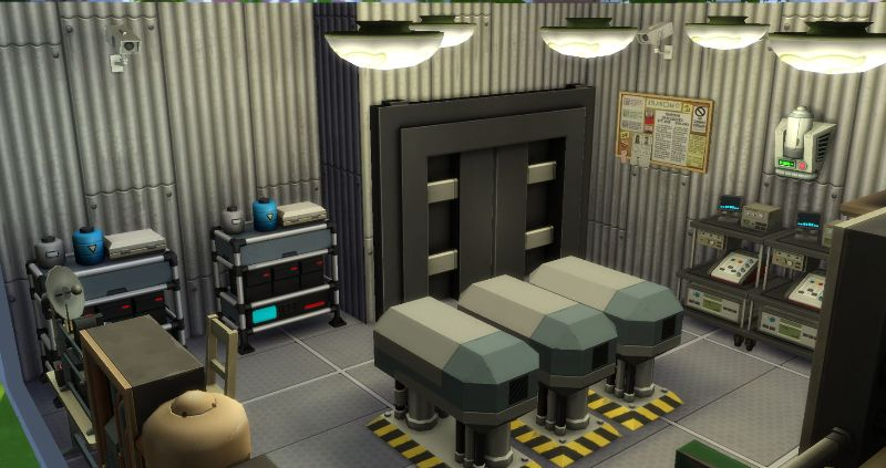 Secret Power Plant - Room