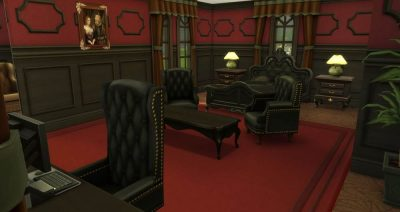 Black Beauty - Bedroom