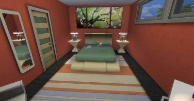 Eastern Modern Bedroom
